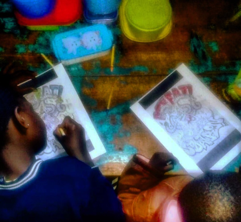 Empowered by knowledge, these Kenyan youth create art to express their dissent.