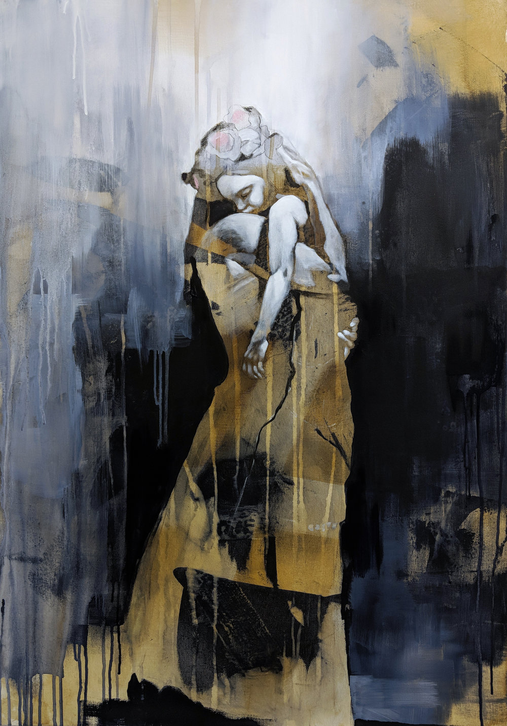 Anne Britt Kristiansen - Mother and daughter 100x70 cm.jpg