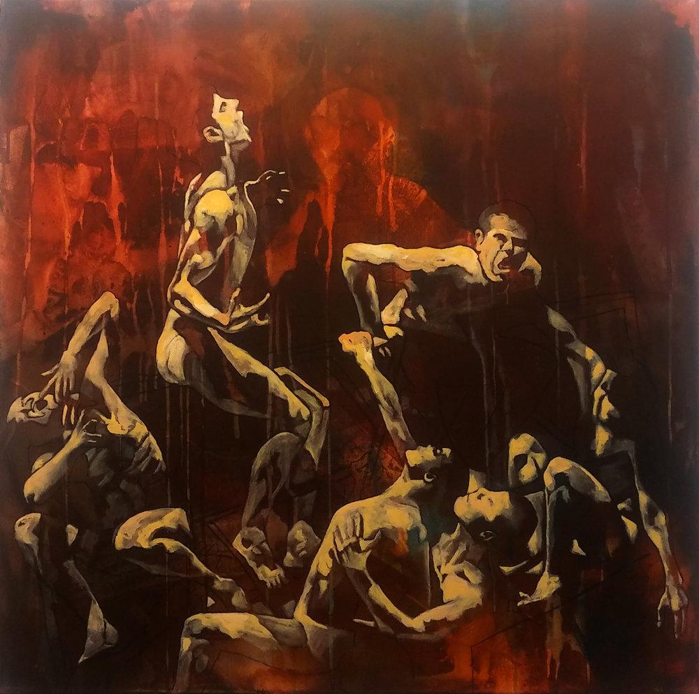 Anne Britt Kristiansen - In the Opera 90x90 cm.jpg