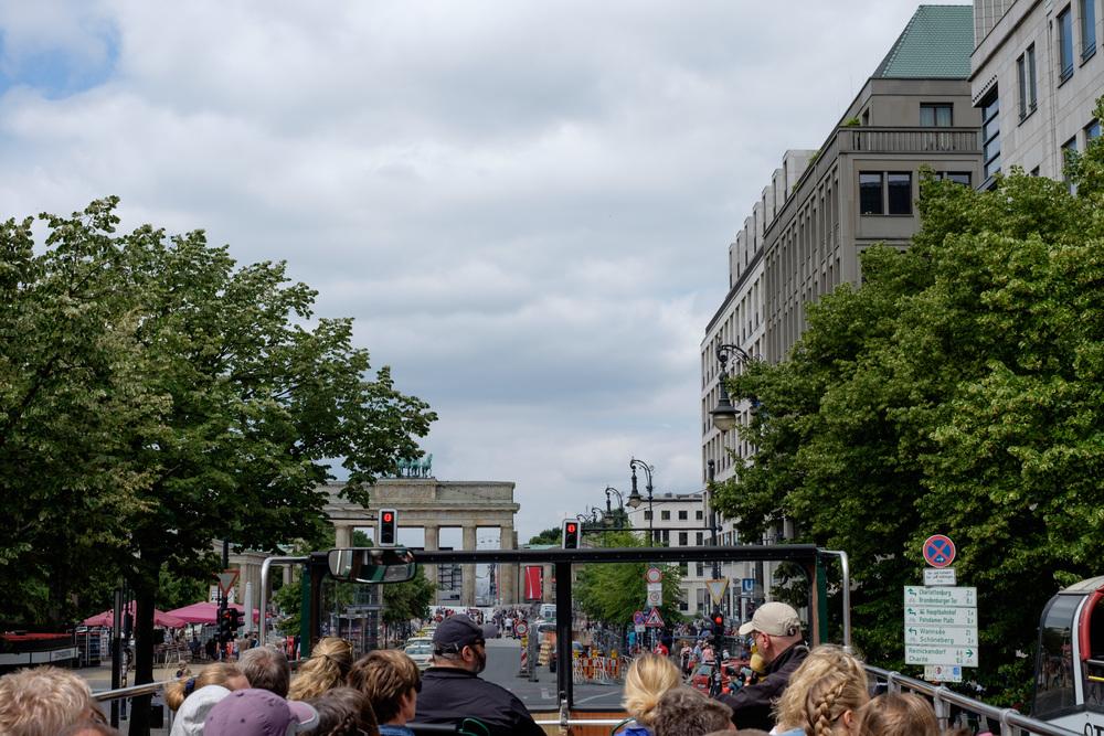 Brandenburger Tor forude