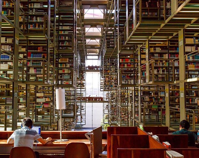 Biblioteca Vasconselos in Mexico City a while back.