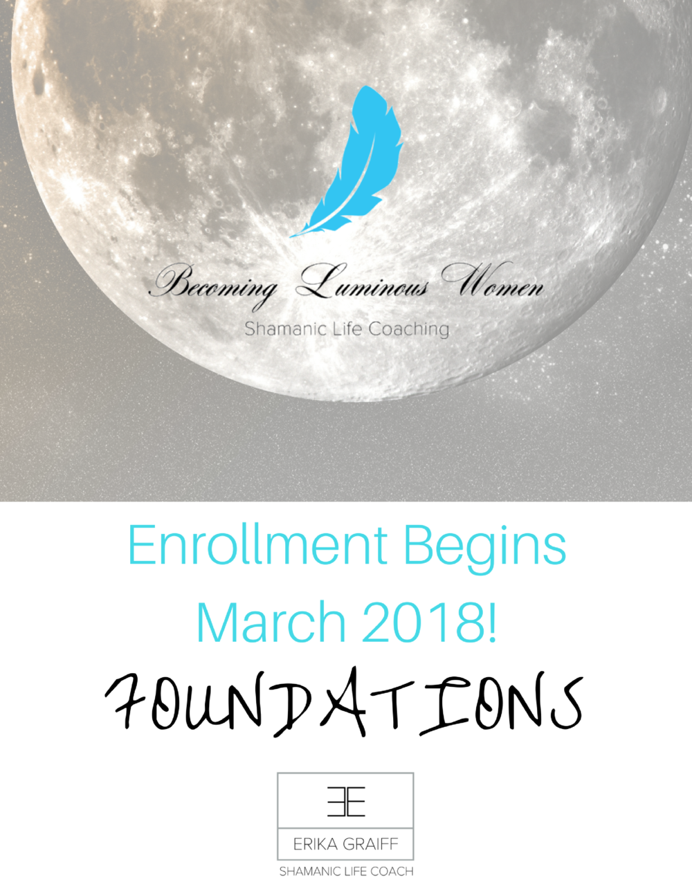 IT'S Finally Ready! March 2018! Becoming Luminous Women- School for Holistic Womanhood 6 Month, Small Group Transformation Align with your moon cycle, Heal your sisterhood, Becoming empowered to travel through the portal of your next Becoming... Luminous!