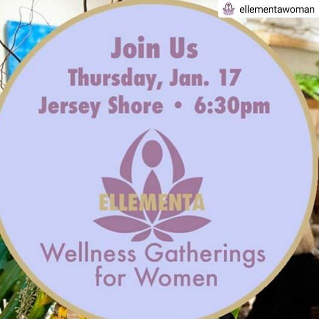 "Tonight! 🎉🎉🎉 • • • • • L A U N C H I N G 🚀  Welcome Ellementa to Jersey Shore with Gathering Leader Erika Graiff! @becoming.luminous.women 🦋 Let's Talk About: ""A Woman's Guide to Cannabis"" for the New Year Join us at Ellementa Women's Wellness Gatherings for empowering knowledge & conversation!  This month, we're talking about women and cannabis. 🍃 --  Why does it work for women? --  How are other women using it? --  What are the high quality products that work? 🌸 If you are looking to be more centered and calm, to fortify yourself against life's stressors, and to simply feel better, this Gathering is for YOU. 🙏 Learn from our Ellementa Leaders, our Guest Experts and our #TrustedBrands at every Ellementa Women's #WellnessGathering. Bring a girlfriend or any woman you know who can benefit from these #inspiringevents 🍃 We look forward to seeing you! #FeelBetter  WIN A BOOK!❣️ Ellementa is partnering this month with #WorkmanPublishing to share A #WomansGuidetoCannabis by #NikkiFurrer, a handbook demystifying the world of cannabis, whether it's being used for pain relief, a moment of #calm or sheer enjoyment. We will be giving away one copy of the book at this Gathering. 💕 ABOUT #ELLEMENTA: #Cannabis has been used to enhance women's health for centuries. Ellementa organizes Gatherings in over 50 cities #connectingwomen to #cannabisexperts and brands. Learn about cannabis for #health #wellness #selfcare and #caregiving. These are non-consumption  #cannabiseducation monthly events for women #femaleidentified only. We create welcoming spaces where women can come together to #speakopenly about #cannabiswellness 🧘 At each monthly Ellementa Gathering, we'll explore why cannabis and CBD are so compatible with the human body and answer all of your questions. (If we don't know the answers, we'll find them!) 🙏 MEET YOUR ELLEMENTA Jersey Shore LEADER: #ErikaGraiff  Erika Graiff is a teacher, feminine leadership coach, #medicinalcannabis license holder and what you could call an #EarthKeeper and #MedicineWoman Her work is focused on helping women reconnect with innate #feminine biological wisdom to engage their time, energy, and resources well."