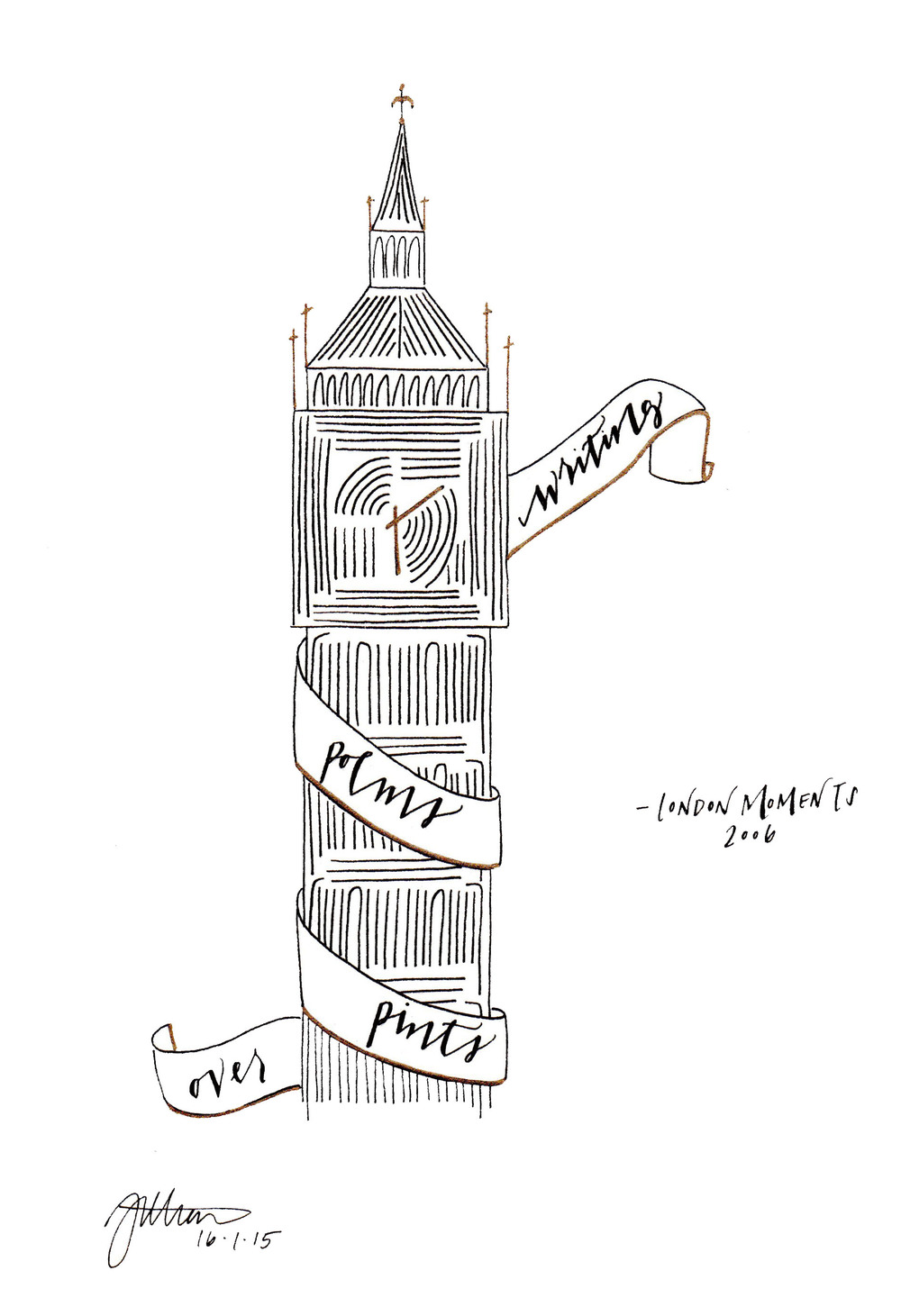 Big Ben Illustration | 2014