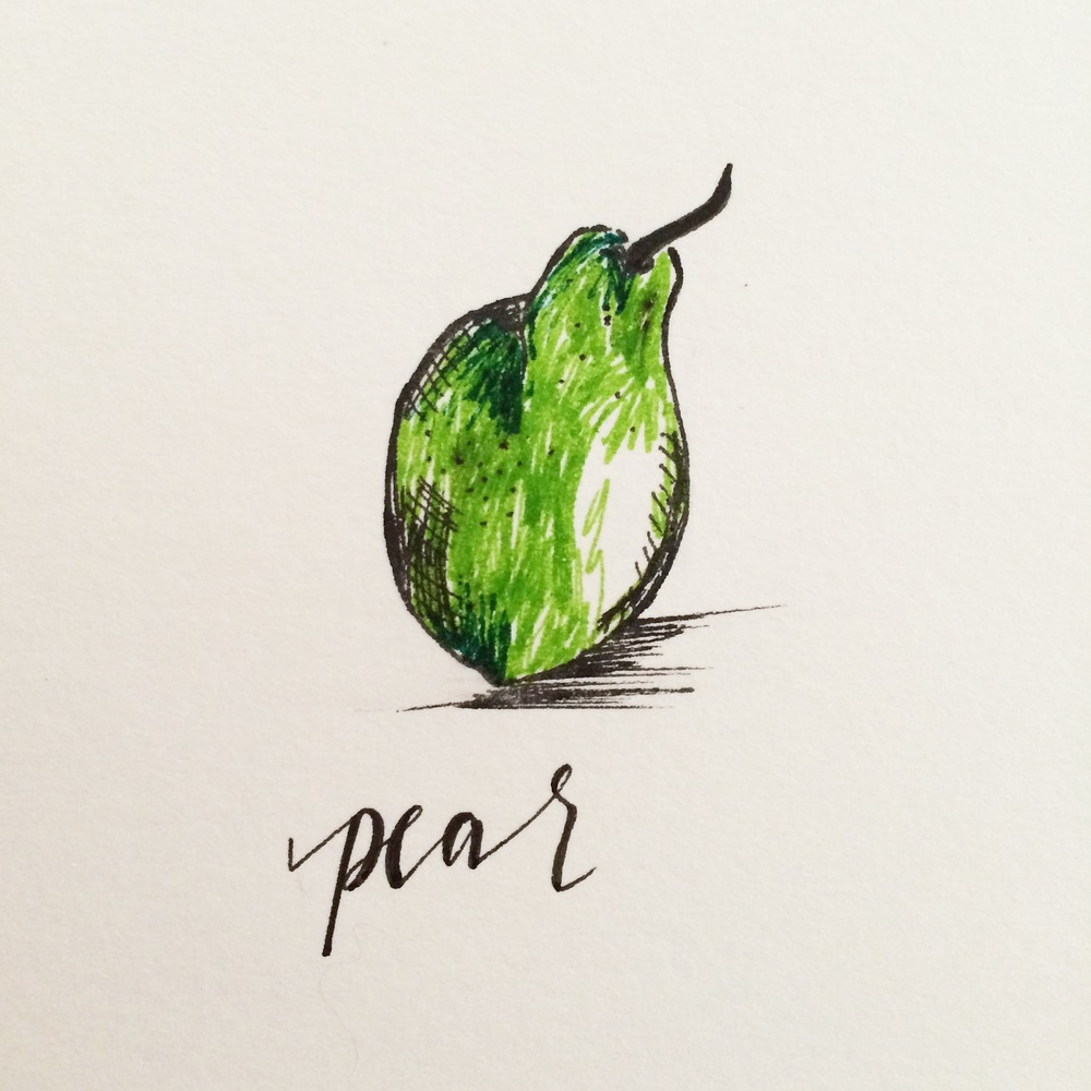 Pear Illustration | 2015
