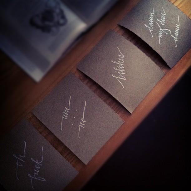 calligraphy prints