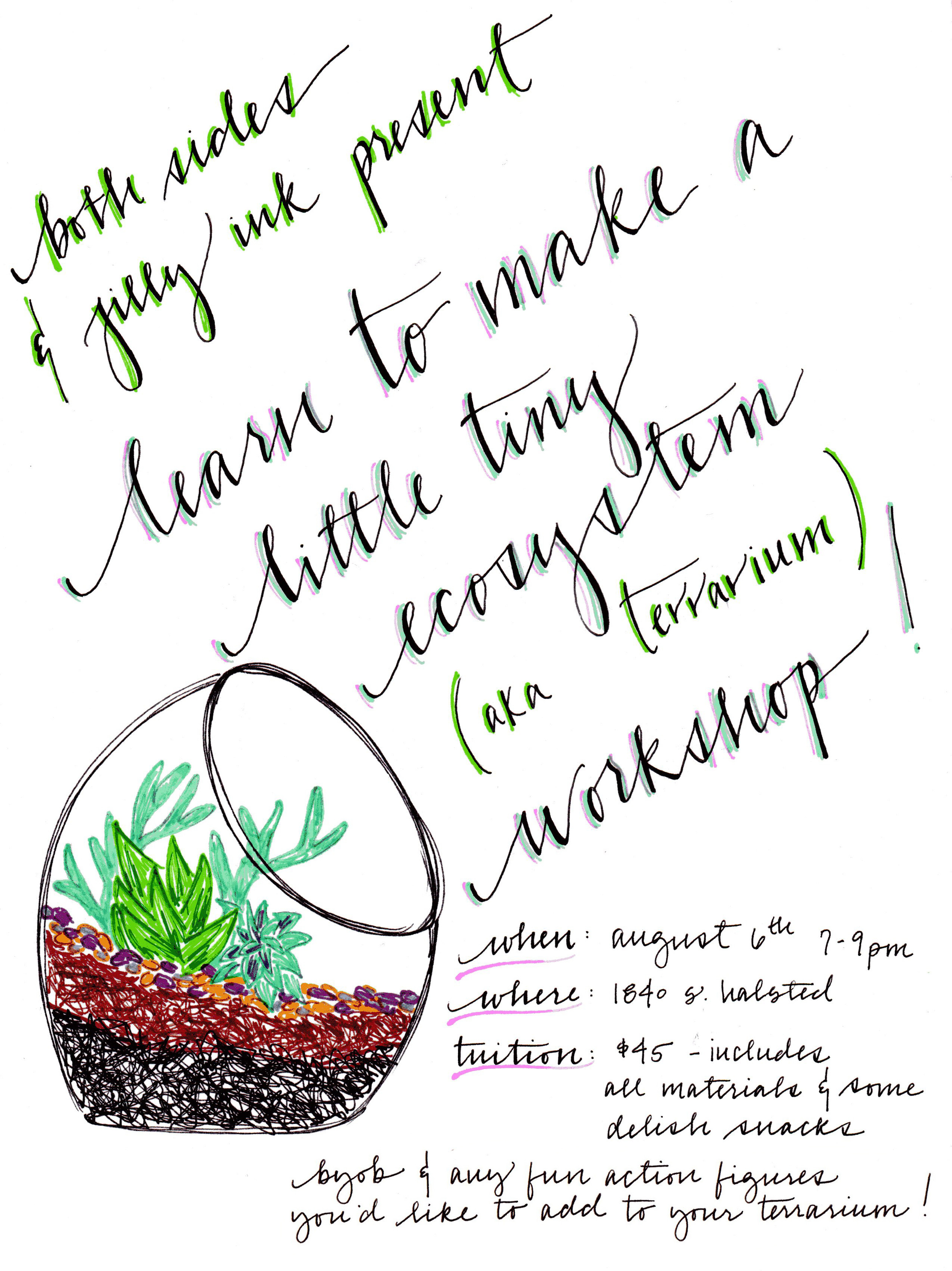 little tiny ecosystem workshop
