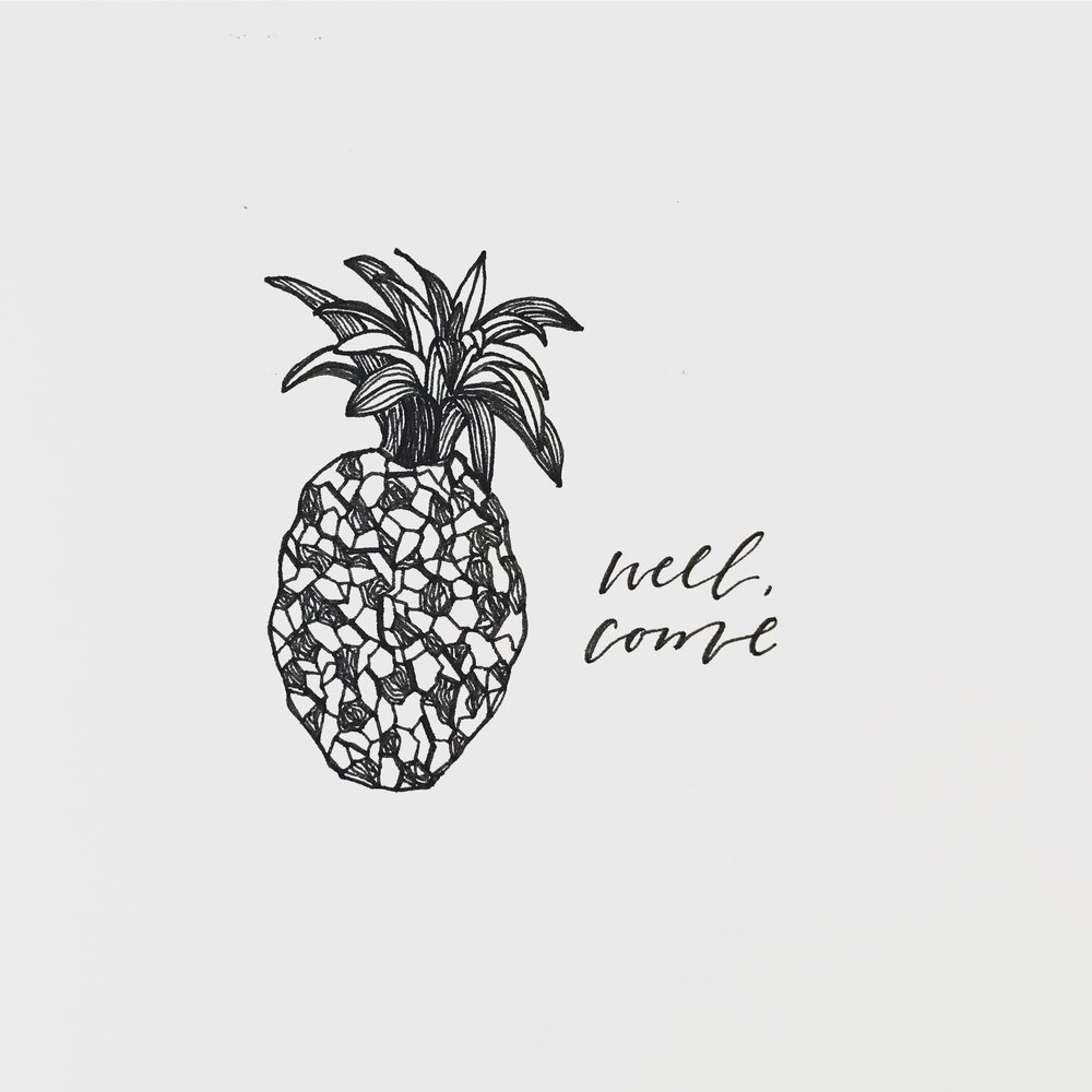 Pineapple Illustration | 2018