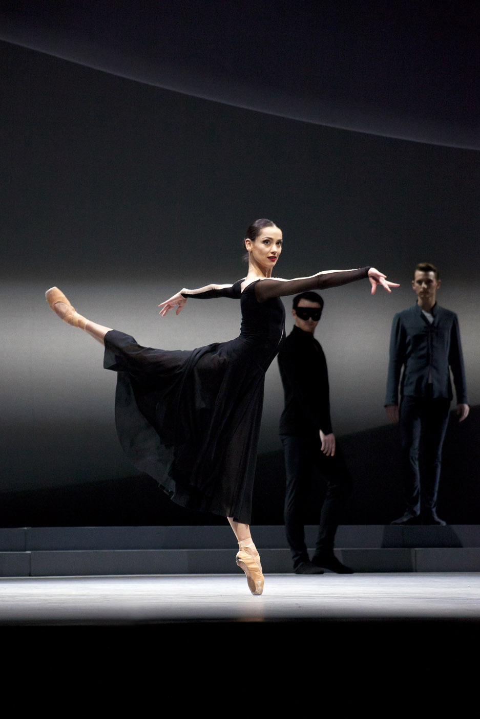 Sophie Martin as Odile in David Dawson's Swan Lake