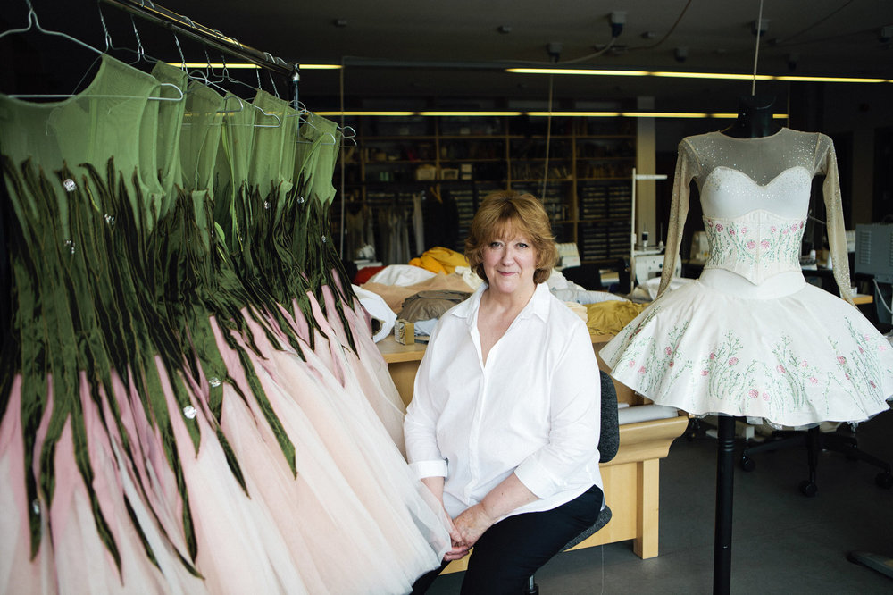 Caro Harkness, Scottish Ballet Head of Wardrobe