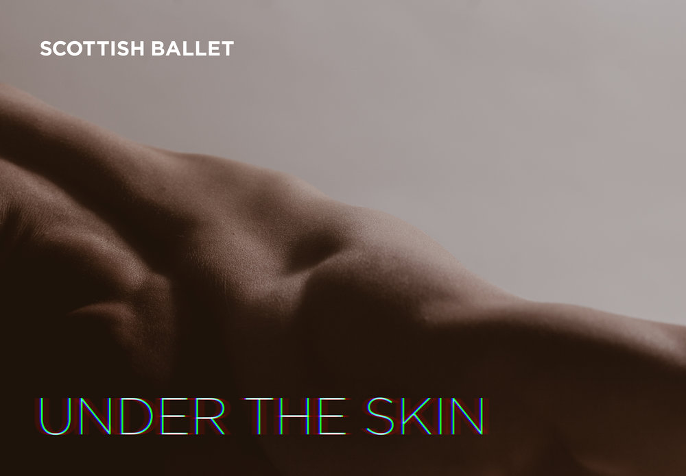 Scottish Ballet Digital Season 2017 poster artwork