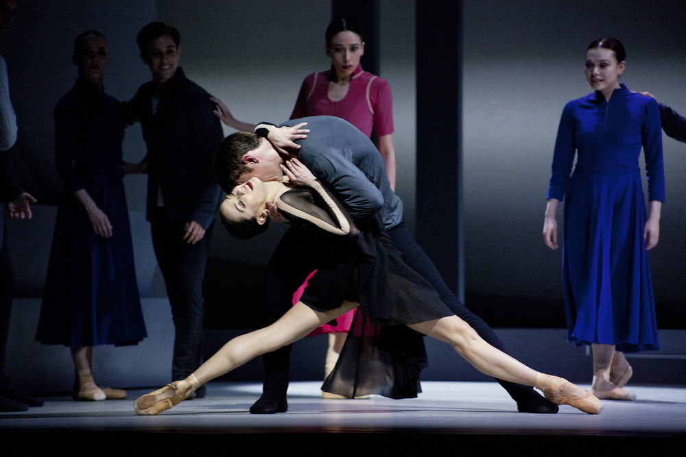 Sophie Martin as Odile with Christopher Harrison as Siegfried in David Dawson's Swan Lake