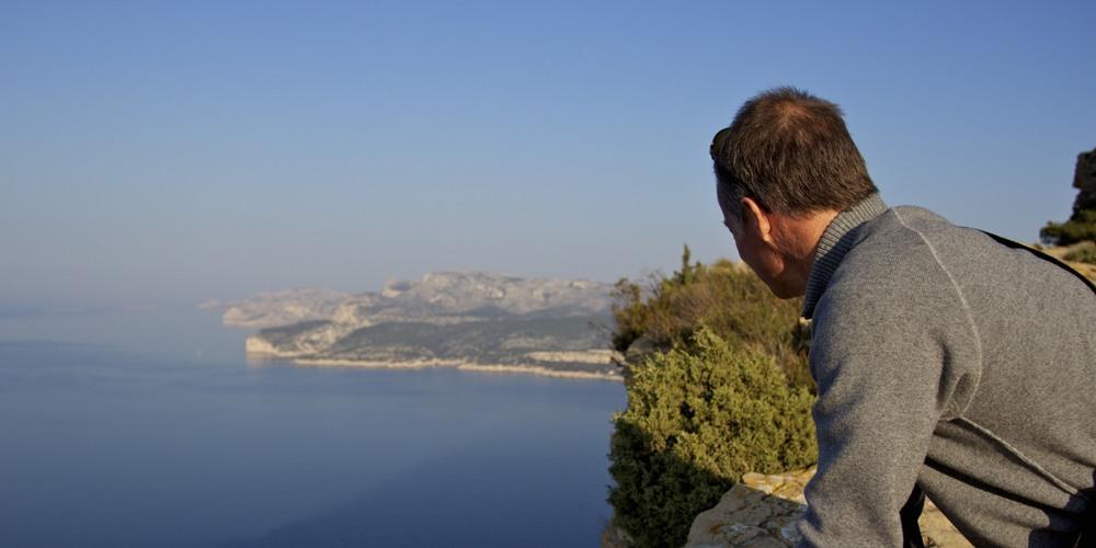 overlooking cassis