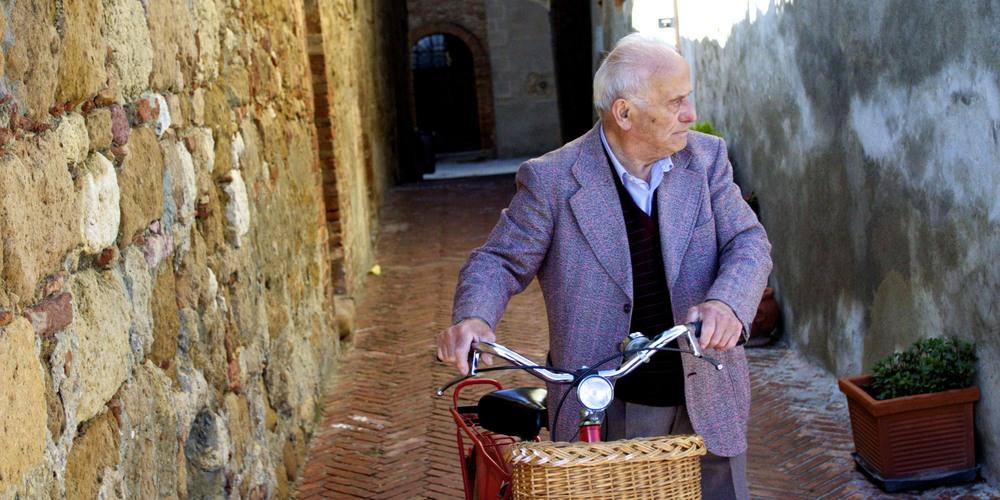tuscan cyclist