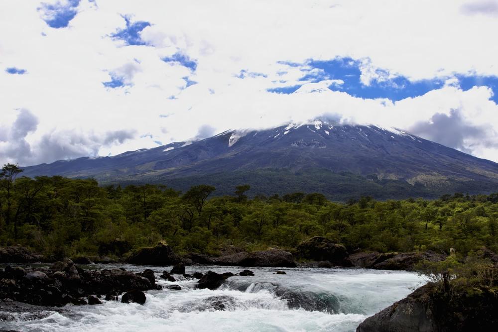 rapids & osorno volcano