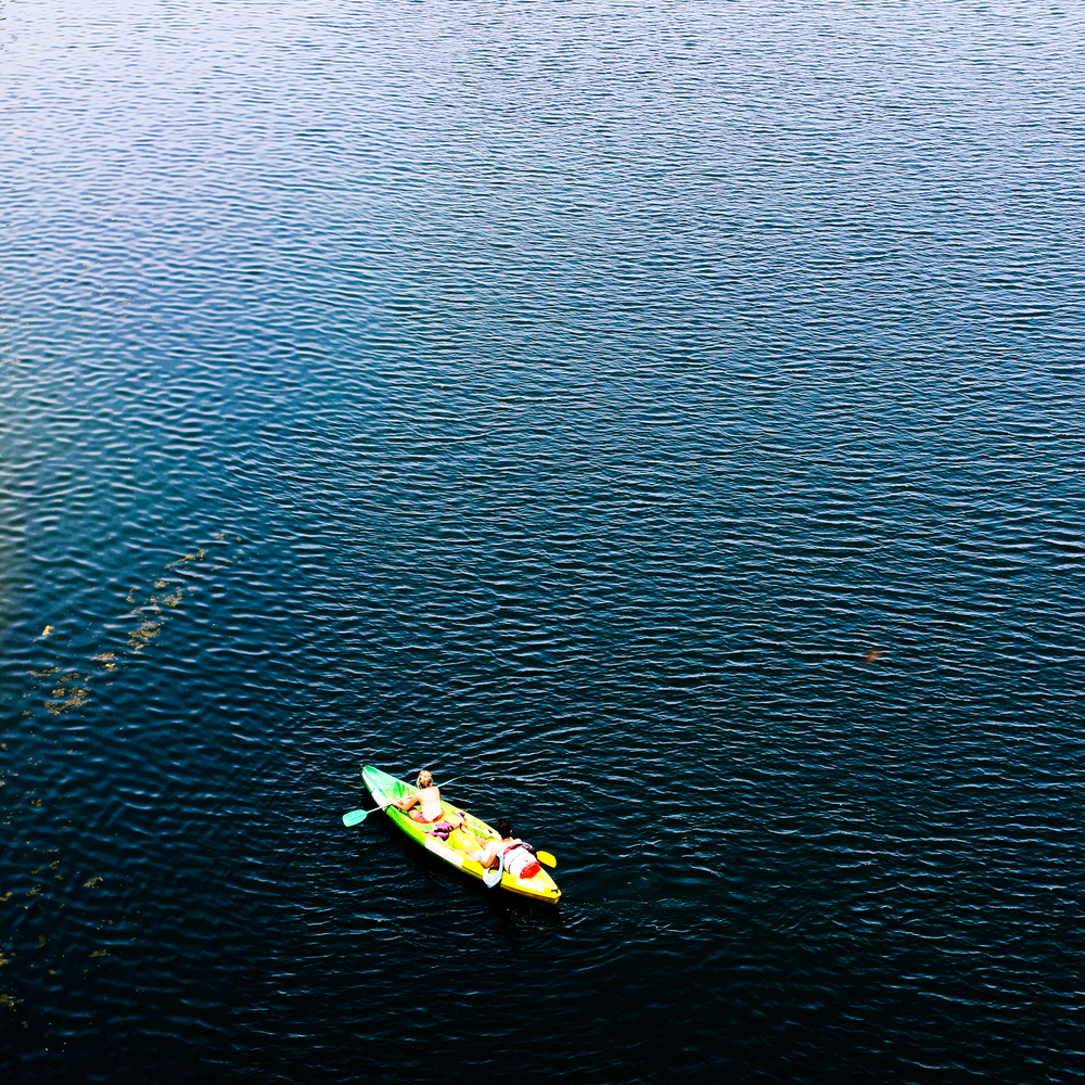 canoe in provence