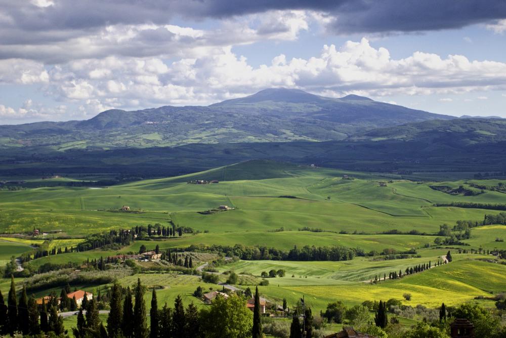Mt Amiata, Tuscany, Italy