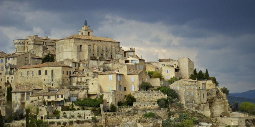 The town of Gordes in the Vaucluse, Provence, France