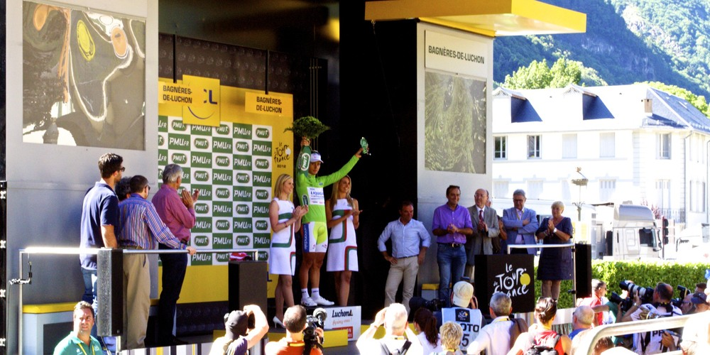 Peter Sagan in Green