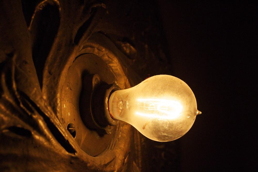 Carbon Filament Light Bulb - Auditorium Theatre Chicago