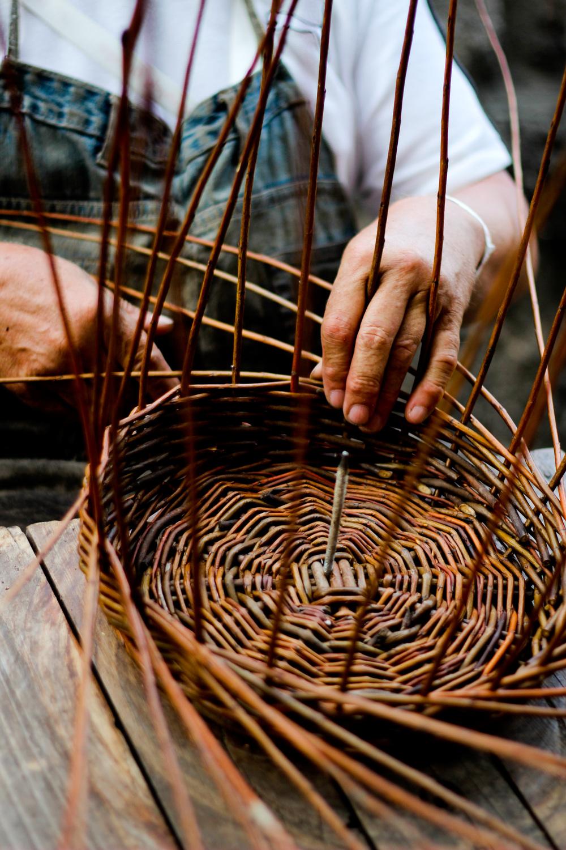 Hungarian Basket Weaving in Budapest