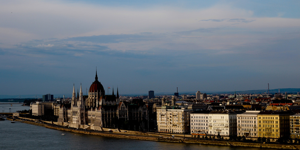 Parliment of Budapest along the Danube.jpg
