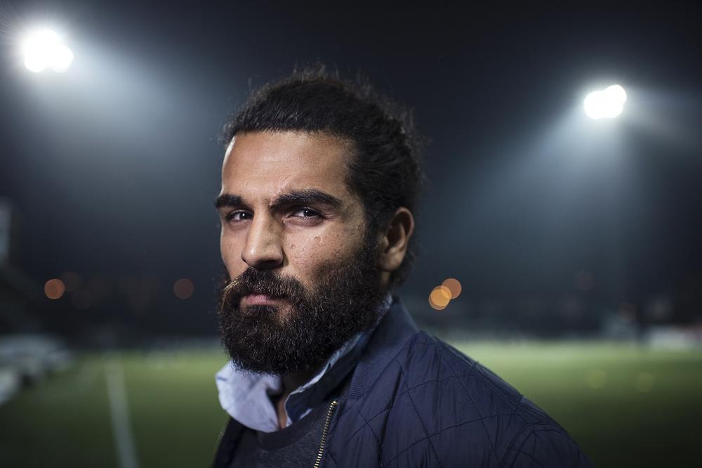 Peshraw Azizi, fotbollsspelare i Dalkurd FF.