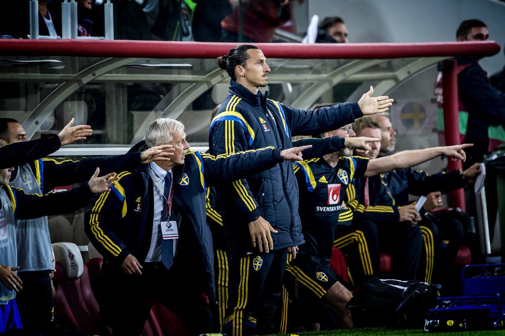 Zlatan Ibrahimovic styr landslaget med järnhand. Här är beviset!