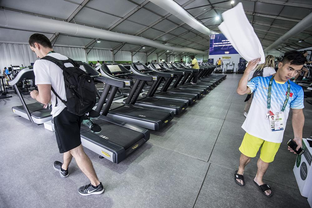 Gymmet är enormt.