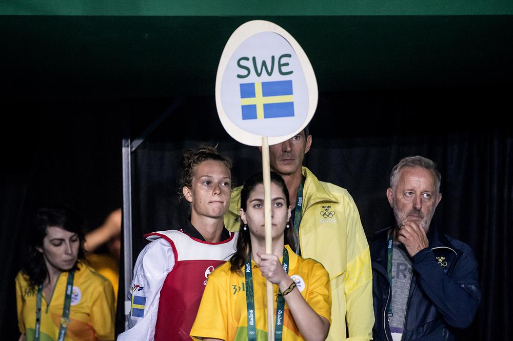 Nikita Glasnovic, 21 år,gjorde sitt första OS.
