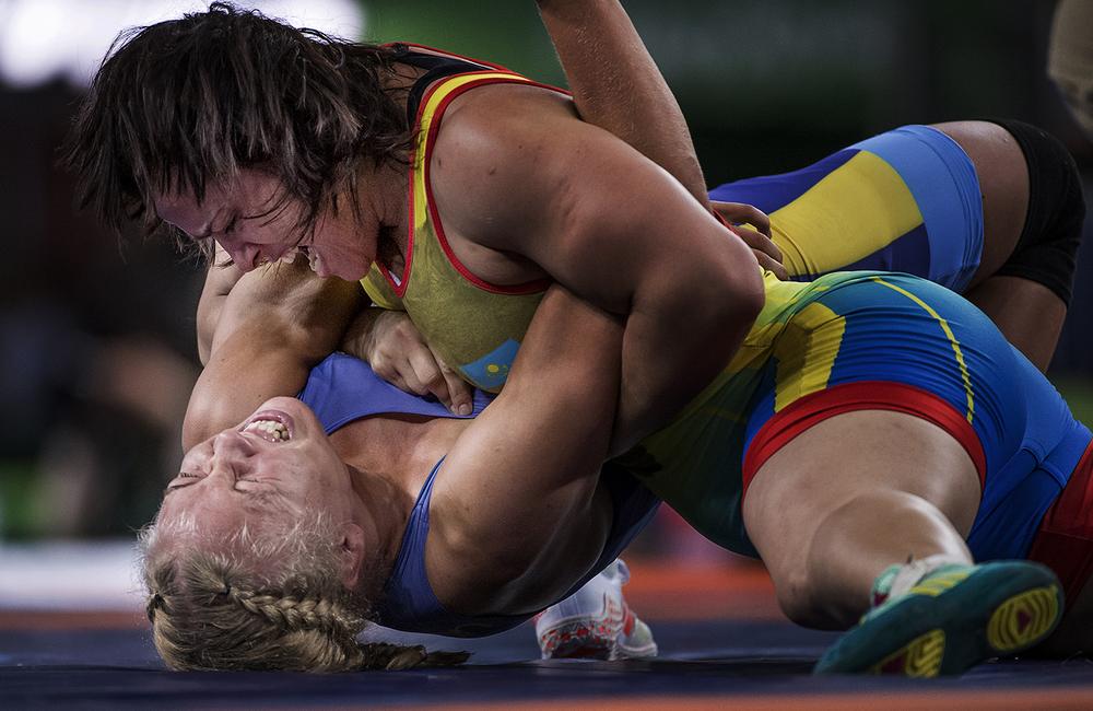 Henna Johansson förlorar mot Yekaterina Larionova från Kazakstan i kvartsfinalen.
