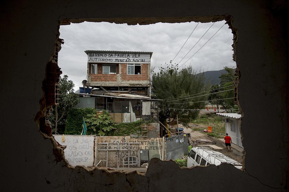 Favelan Vila Autódromo