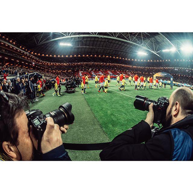 Ringrostigt, mest för mig, när fotbollssäsongen drog igång igår med Sverige - Chile. För @sportbladet.
