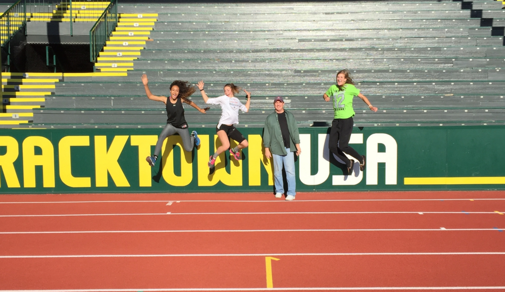 Hayward Field 2015 Oregon Relays Eagle High