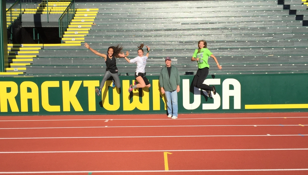 Hayward Field 2015 Oregon Relays