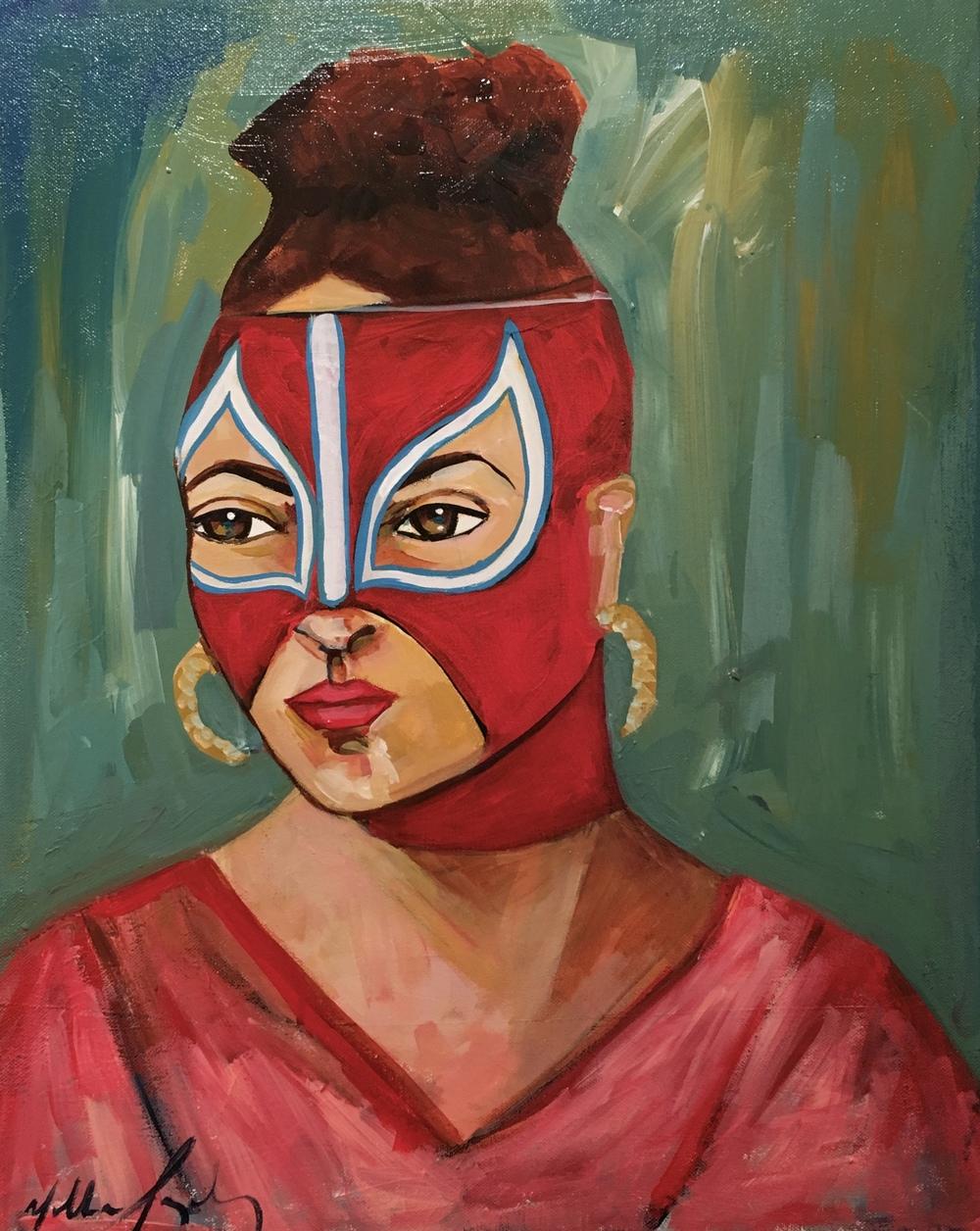 La Chingona I by Yolanda Gonzalez