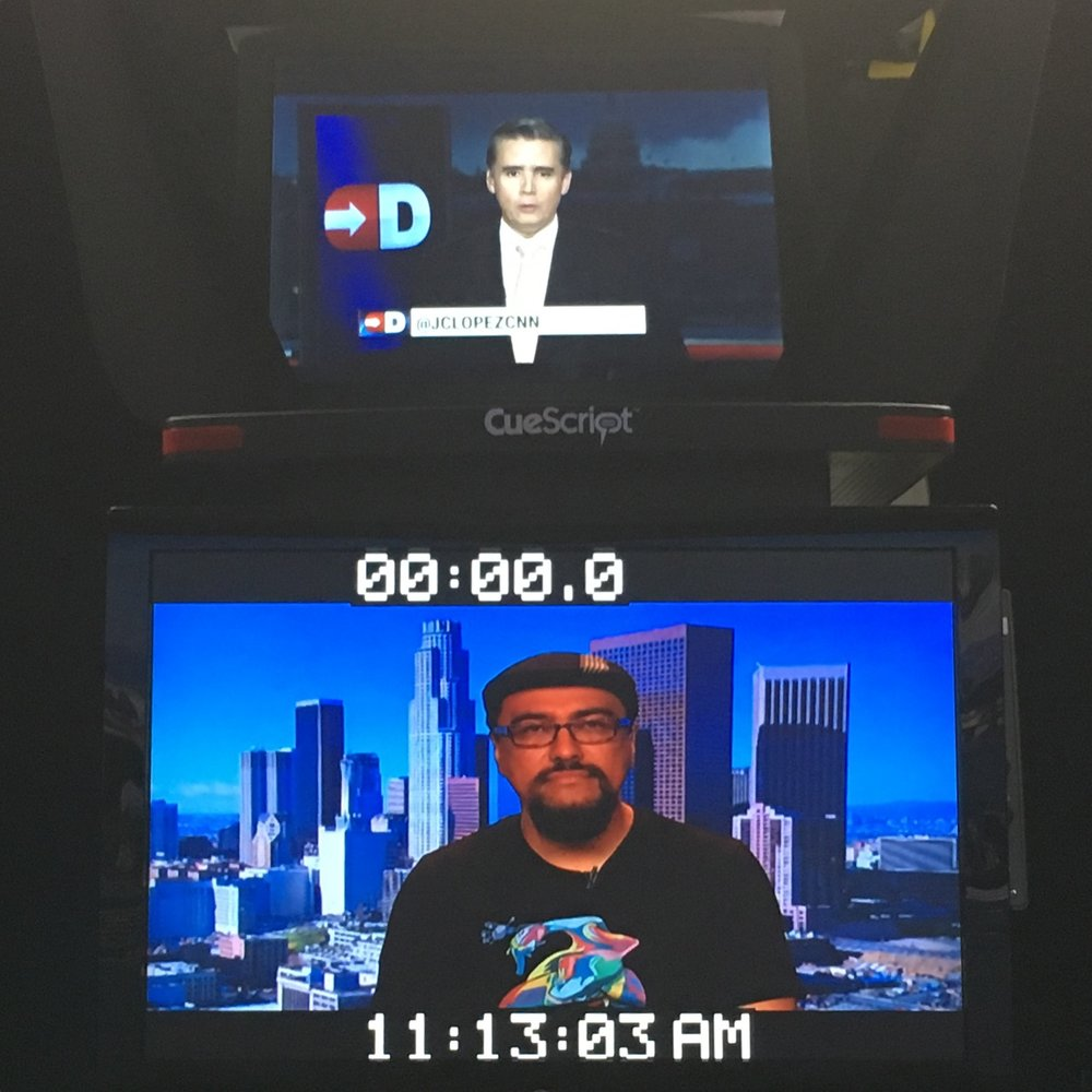 Click on the image above to watch my Spanish language interview on CNN!