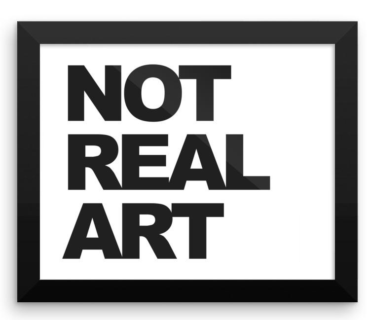 Not Real Art Logo