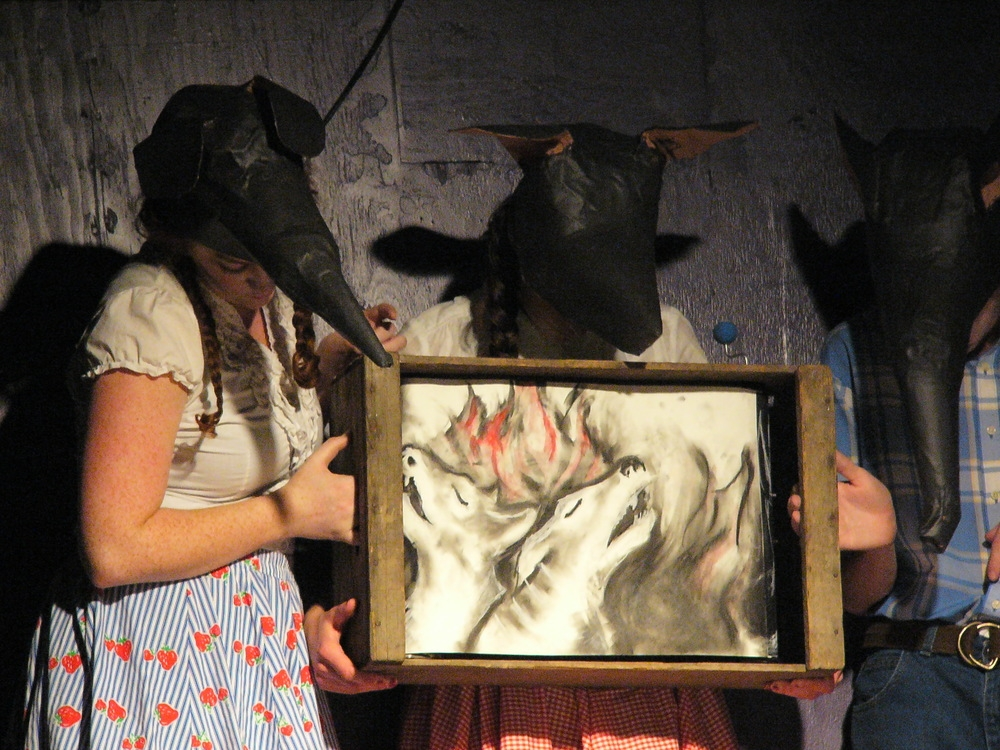 Ratcatcher, 2012,  Original adaptation of the Pied Piper of Hamlin in collaboration with The Crux.