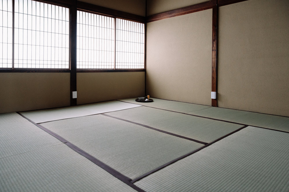 Upstairs tatami room