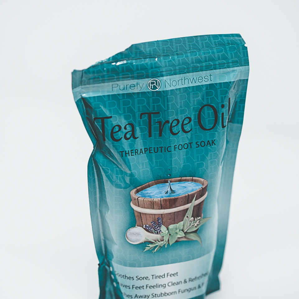 Tea Tree Oil Foot Soak -