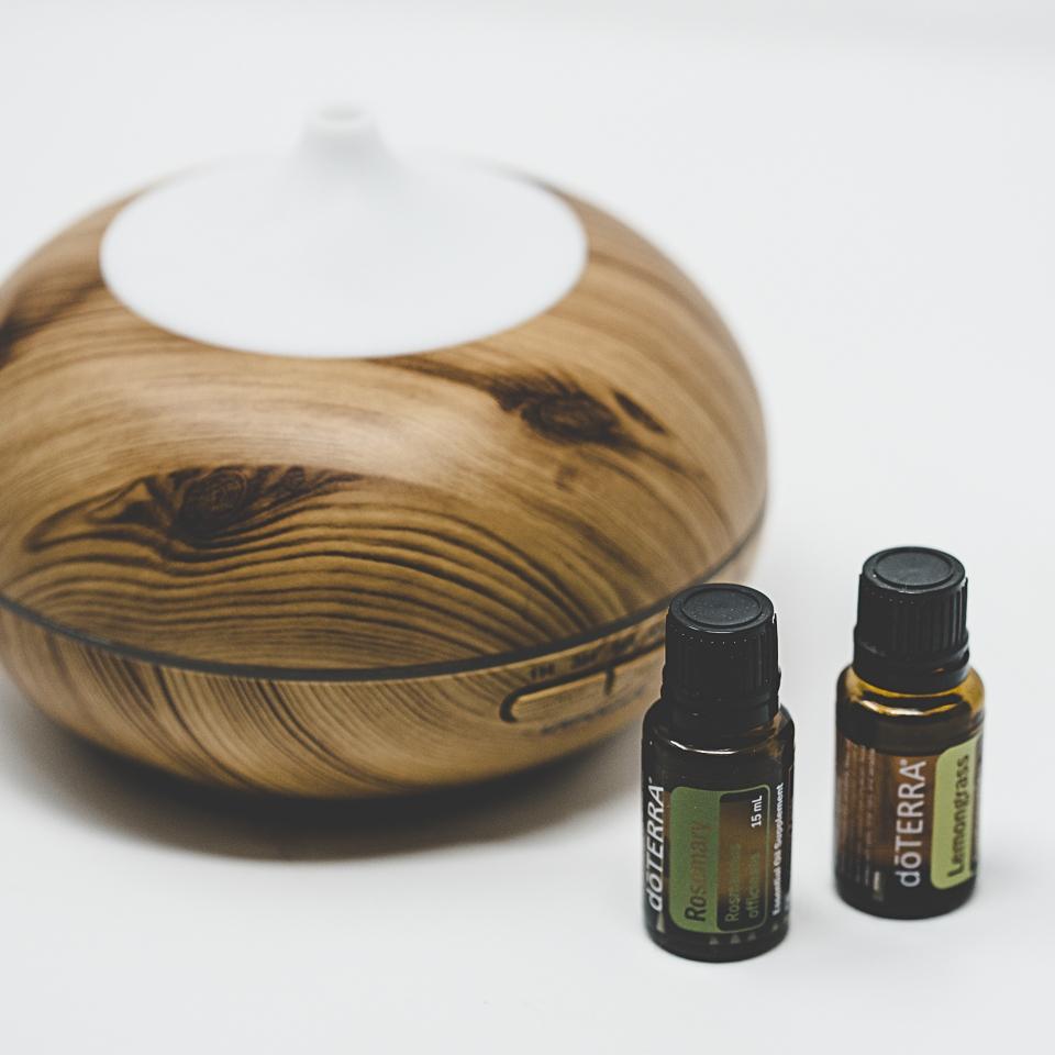 Diffuser + Essential Oils -