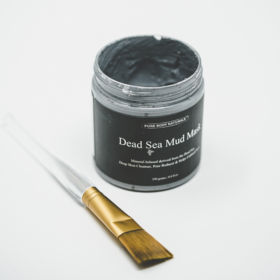 Dead Sea Mud Mask + Facial Brush - Link to Facial Brush