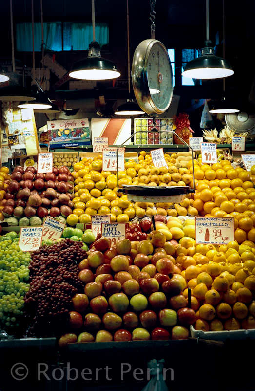 Pike Place Market fruit Stand