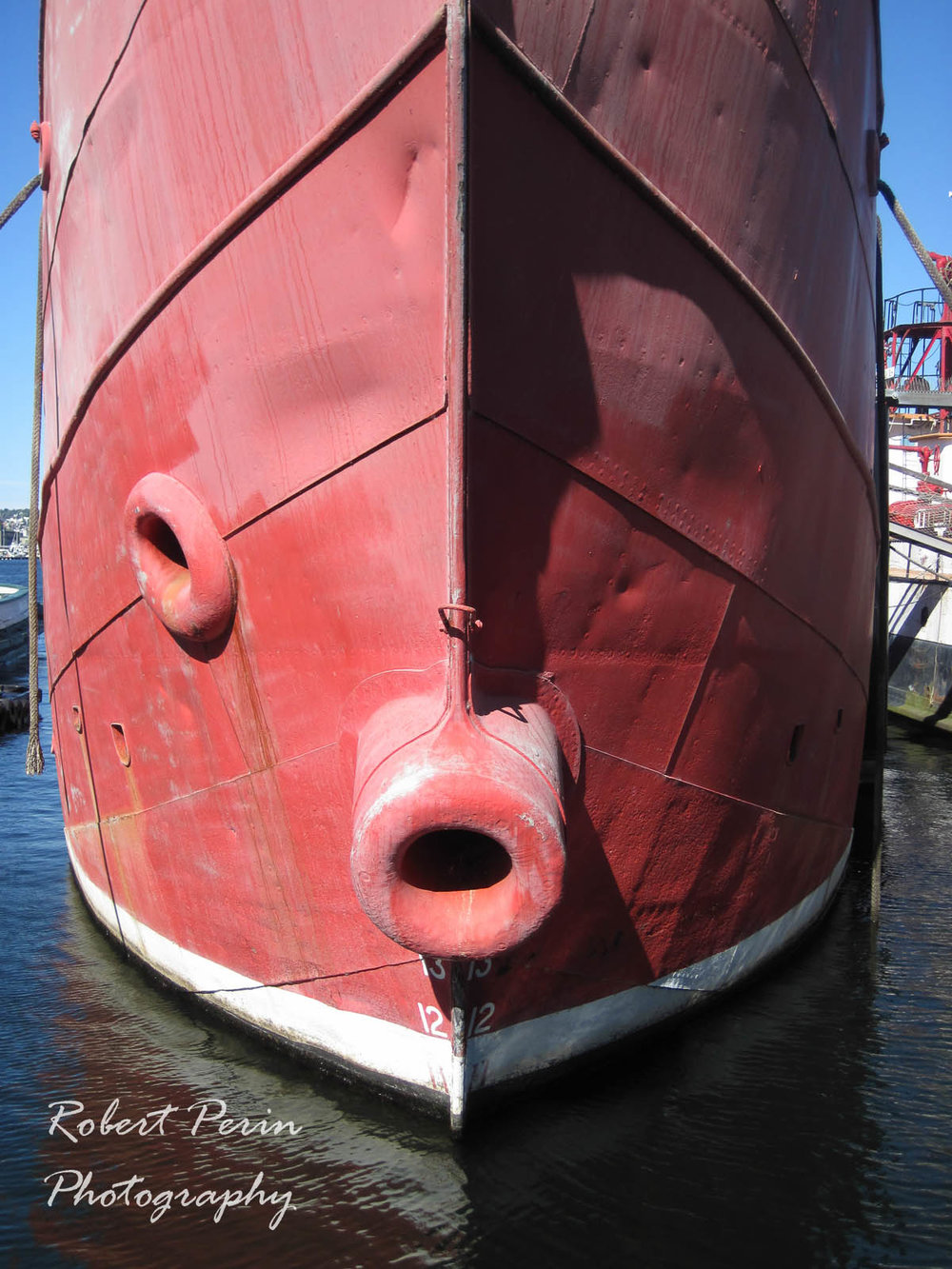 THE BOW OF THE LIGHTSHIP