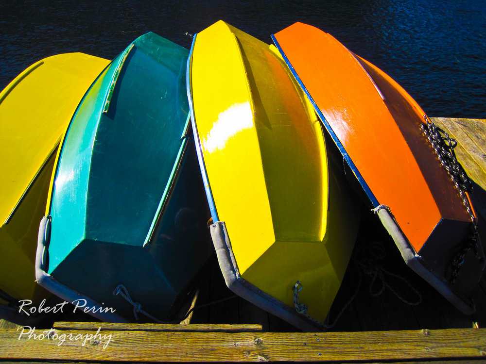 WOODEN BOATS ON THE DOCK