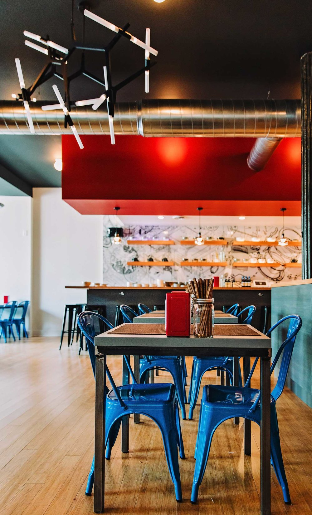New restaurant interior (photo: Kelly Crews Photography)