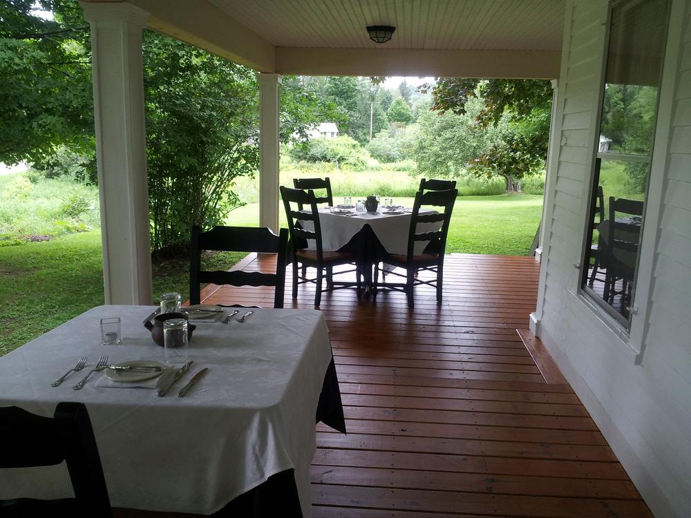 inn dorset vermont porch dining