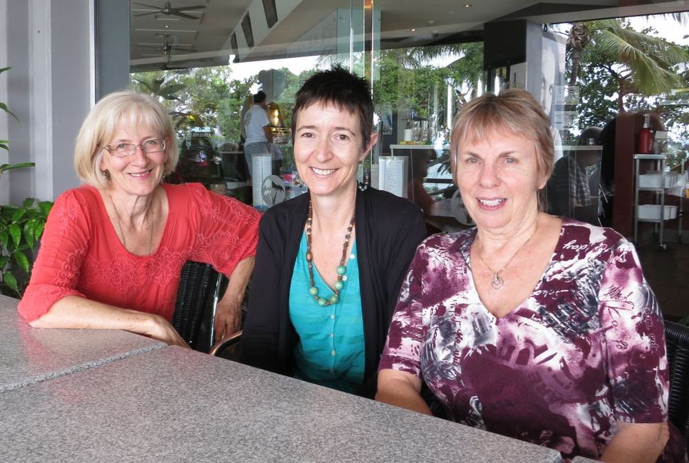 Sheryl, Trudie and Kaye