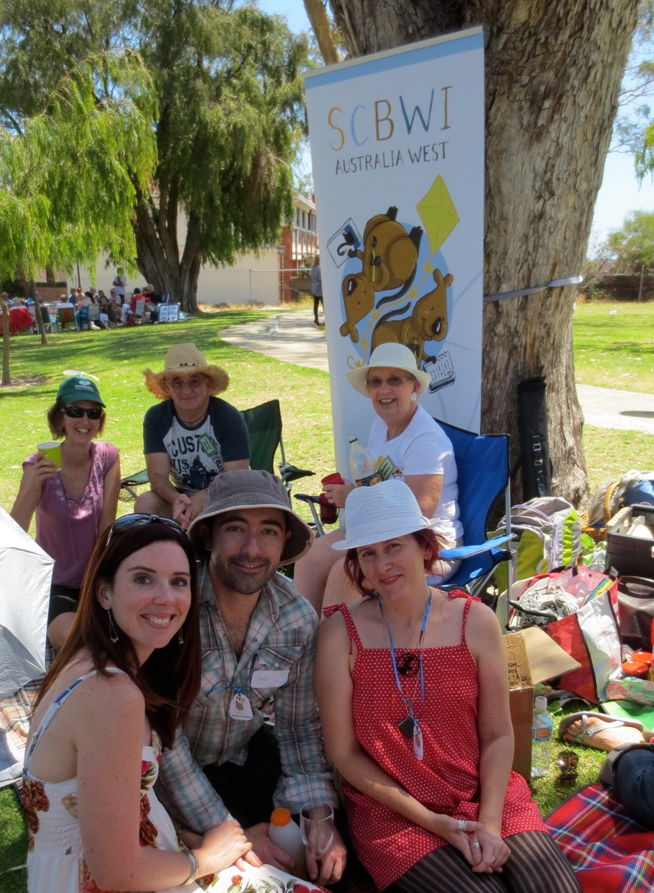 SCBWI Australia West members at the Christmas BBQ